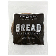 Kim & Jake's Gluten-Free Peasant Loaf Bread