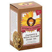 Kimbers Cookies Cookie Kit Cranberry White Chocolate