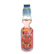 Kimura Ramune Strawberry Flavor