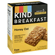 Kind Breakfast Honey Oat Bars