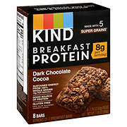 Kind Breakfast Protein Dark Chocolate Cocoa Bars