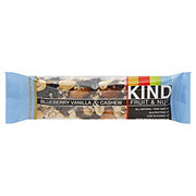 Kind Fruit & Nut Blueberry Vanilla & Cashew Bar