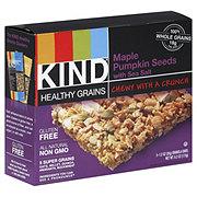 Kind Healthy Grains Maple Pumpkin Seeds Sea Salt Bars