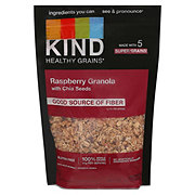 Kind Healthy Grains Raspberry Clusters With Chia Seeds Cereal