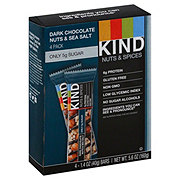 Kind Nuts & Spices Dark Chocolate Nuts & Sea Salt Bars