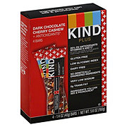 Kind Plus Dark Chocolate Cherry Cashew + Antioxidants Bars