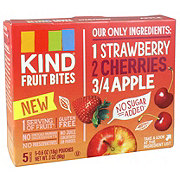 Kind Strawberry Cherry Apple Fruit Bites