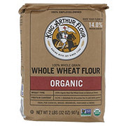 King Arthur Unbleached Whole Wheat Organic Flour