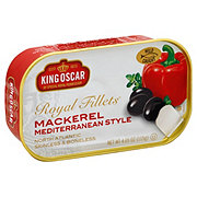 King Oscar Skinless Boneless Mackerel Mediterranean Style