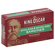 King Oscar Skinless Bonless Sardines In Olive Oil
