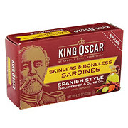 King Oscar Skinless Bonless Sardines Spanish Chili Pepper