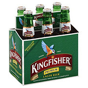 Kingfisher Premium Lager Beer 12 oz Bottles