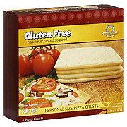 Kinnikinnick Foods Gluten Free Personal Size Pizza Crusts