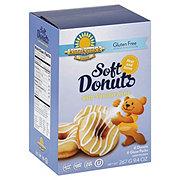 Kinnikinnick Foods Gluten Free Soft Donuts With Vanilla Icing