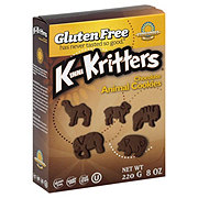Kinnikinnick Foods KinniKritters Chocolate Animal Cookies