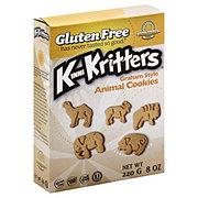 Kinnikinnick Foods KinniKritters Graham Style Animal Cookies