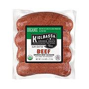 Kiolbassa Organic Beef Smoked Sausage Links