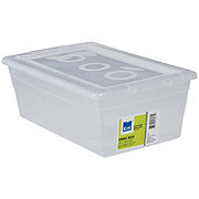 Kis Omni Box, Clear Shoe Box with Lid