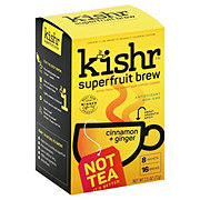 KiShr Organic Spiced Chai Coffee Fruit Tea