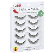 97f2ae235a4 Kiss Looks So Natural Eye Lashes Shy. Regular: $8.87 each. Select options  for price. 5 ct. $8.87 each. Regular: $8.87 each. Rating is 0 stars out of  5 stars