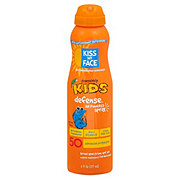 Kiss My Face Kids Defense Air Powered Sunscreen Spray SPF 50