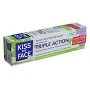 Kiss My Face Triple Action Fresh Mint Toothpaste