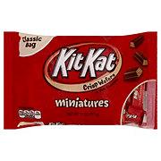 Kit Kat Miniatures Crisp Wafers Candy Bars, Classic Bag