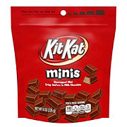 Kit Kat Minis Crisp Wafers In Milk Chocolate Candy Bars