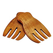 Kitchen & Table Acacia Salad Hands Set