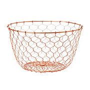 Kitchen & Table Chicken Wire Basket