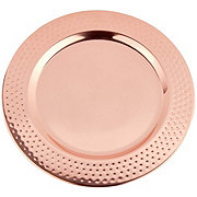 Kitchen & Table Copper Charger Plate