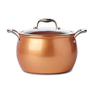 Kitchen & Table Copper Stock Pot