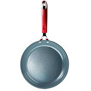 Kitchen & Table Forged Fry Pan, Red