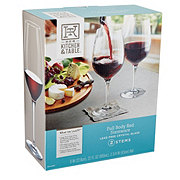 Kitchen & Table Full Body Red Wine Glass