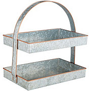 Kitchen & Table Galvanized Rectangle 2 Tier