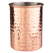 Kitchen & Table Hammered Copper Crock