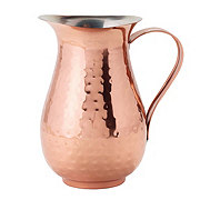 Kitchen & Table Hammered Copper Pitcher