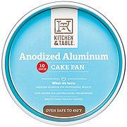 Kitchen & Table Round Anodized Alum Pan