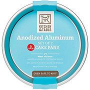 Kitchen & Table Round Anodized Alum Pan Set