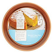 Kitchen and Table Copper Round Cake Pan