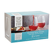 Kitchen and Table Stemless Wine Glasses