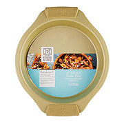 Kitchen and Table Titanium Ceramic Gold Round Cake Pan