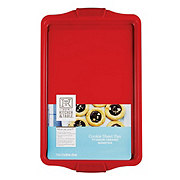 Kitchen and Table Titanium Ceramic Red Cookie Sheet