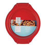 Kitchen and Table Titanium Ceramic Red Round Cake Pan