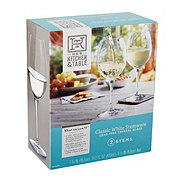 Kitchen and Table White Wine Glasses