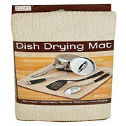 Kitchen Basics Dish Drying Mat - Cream Color