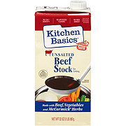 Kitchen Basics Unsalted Beef Flavor Cooking Stock