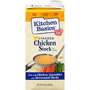 Kitchen Basics Unsalted Chicken Cooking Stock