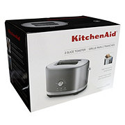 KitchenAid 2-Slice Toaster with High Lift Lever, Silver