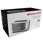 KitchenAid 4-Slice Long Slot Toaster with High Lift Lever, Silver
